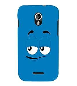 EPICCASE Blue eyes cartoon Mobile Back Case Cover For Micromax Canvas Magnus A117 (Designer Case)