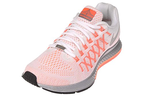 meilleur service 07a76 e0834 Nike Women's W Air Zoom Pegasus 32 NWM, WHITE/REFLECT SILVER-SUNSET  GLOW-HOT LAVA, 7.5 M US | $136.66 - Buy today!