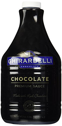 Ghirardelli Chocolate Flavored Sauce, Chocolate, 87.3-Ounce Packages (Chocolate Sauce Coffee compare prices)