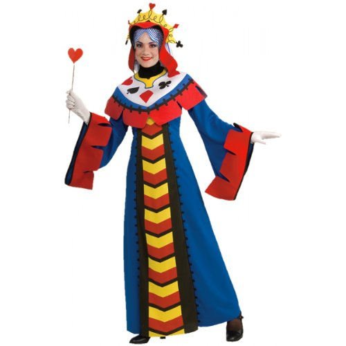 Playing Card Queen Costume - Standard - Dress Size 10-12
