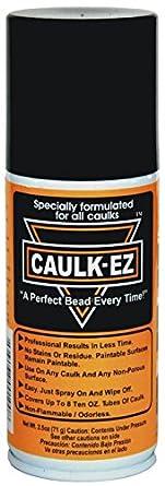CAULK-EZ EZ-4 Caulk Spray Can with Nozzle, Transparent, 2.5 oz: Amazon