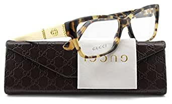 ebbfd5b6a24 Amazon.com  GUCCI GG3559 Eyeglasses Frame Havana Honey .