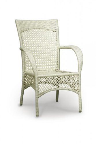 best 44120000 korbsessel madelene wei. Black Bedroom Furniture Sets. Home Design Ideas