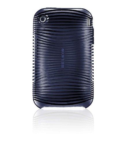 Housse silicone Grip Ergo F8Z460 indigo  pour  iPhone 3G S Existe aussi en piment