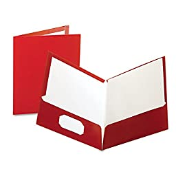 OXF51718 - Oxford Laminated Twin Pocket Folders
