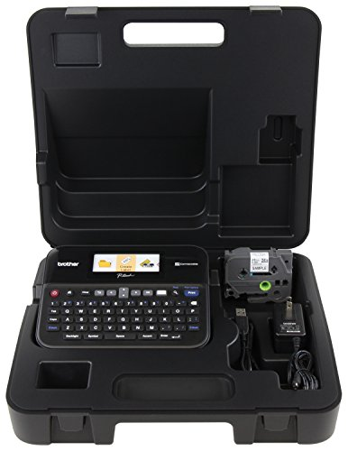 Brother Printer PTD600VP PC Connectible Label Maker with Case (Brother Label Makers compare prices)
