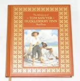 img - for The Adventures of Tom Sawyer & Huckleberry Finn (Dalmation Press Classic Library For Children) book / textbook / text book