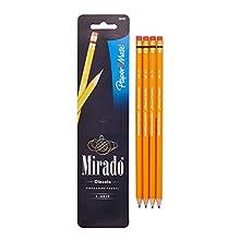 Paper Mate Mirado #2 Classic Cedar Pencils, 4 Pencils (58492)