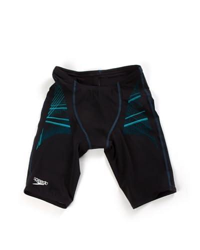 Speedo Shorts da Bagno Lzr Racer Pro Jammer [Nero/Blu]