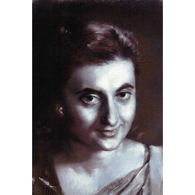 Indira Gandhi RARE India Poster Print - 11x17
