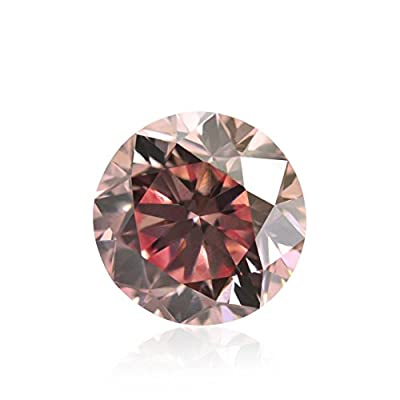 1.00 Carat Argyle Fancy Pink Loose Diamond Natural Color Round Cut GIA Cert