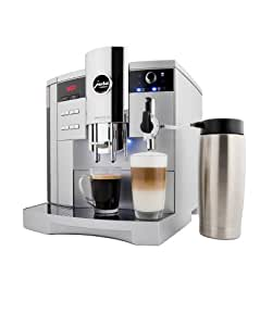 Jura 13423 Impressa S9 One Touch Automatic Coffee-and-Espresso Center, Platinum