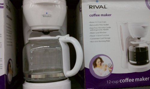 Rival Coffee Maker How To Use : Rival 12-Cup Coffee Maker - coconuas132