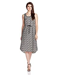 Chemistry Women's A-Line Dress (C16-618WDSDR_Distressed Triangle_Large)