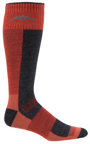 Over-The-Calf Ultra-Light Merino Wool Sock Lava LG by Darn Tough