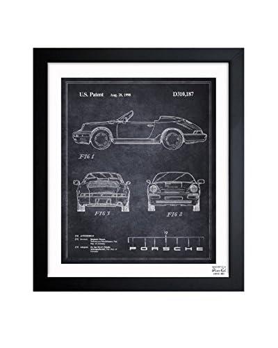 "Oliver Gal Artist Co. ""Porsche 911, 1990"" Framed Art"
