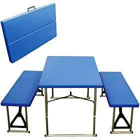 Rio Adventure Ultimate Folding Table and Bench Set
