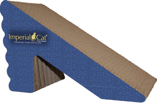 Image Imperial Cat Rub and Ramp Scratch and Shape, Italian Blue