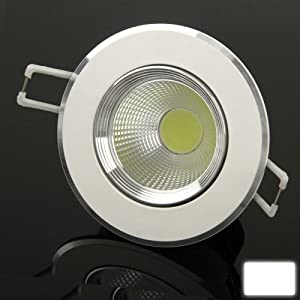 XuMarket(TM) 3W White Down Light / LED Ceiling Lights / LED Days Lanterns Light Bulb, Luminous Flux: 330LM by XuMarket