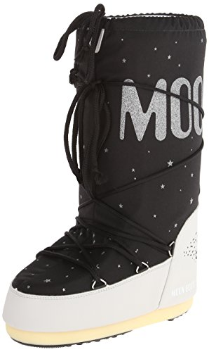 Tecnica Women's Moon Space Winter Fashion Boot, Black, 38 EU/6-7.5 M US (Tecnica Shoes compare prices)