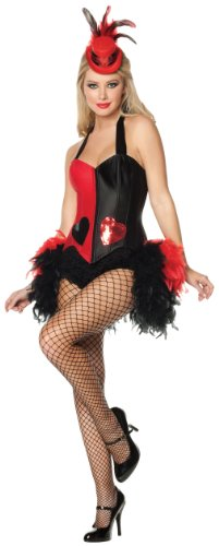 Mystery House Queen Of Heart Deluxe Costume