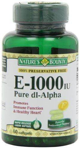 Bounty E 1000 UI de Nature, pur d1-Alpha, 60