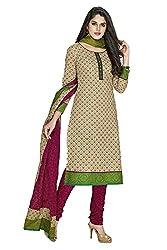 Shree Ganesh Women's Cotton Unstitched Dress Material(SGP916_Green)