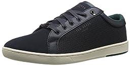 Ted Baker Men\'s Keeran 2 Fashion Sneaker, Dark Blue, 9.5 M US