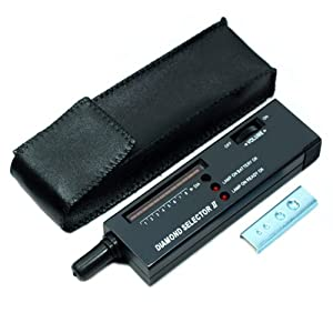 HDE High Accuracy Professional Jeweler Diamond Tester For Novice and Expert,Diamond Selector II, L101