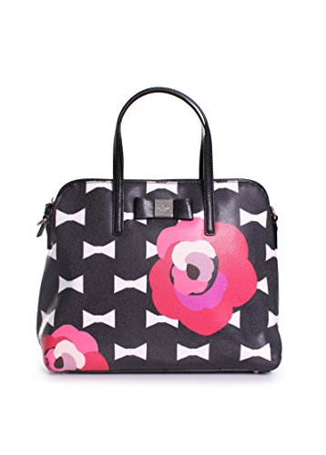Kate Spade New York Bloom Drive Margot Top Handle Bag,Black Multi,One Size