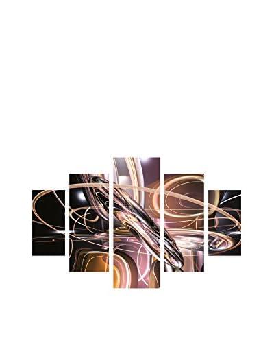 Miracle Panel Decorativo 5 Piezas St240 Multicolor