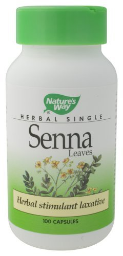 Nature'S Way - Senna Leaves, 450 Mg, 100 Capsules