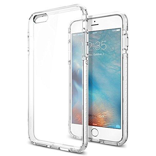 Spigen iPhone6s Plus ケース, ウルトラ・ハイブリッド テック [ 背面 クリア ] アイフォン6s プラス 用 (クリスタル・ホワイト SGP11745)