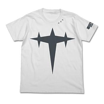 キルラキル 本能寺学園極制服 三つ星 Tシャツ ホワイト サイズ:M