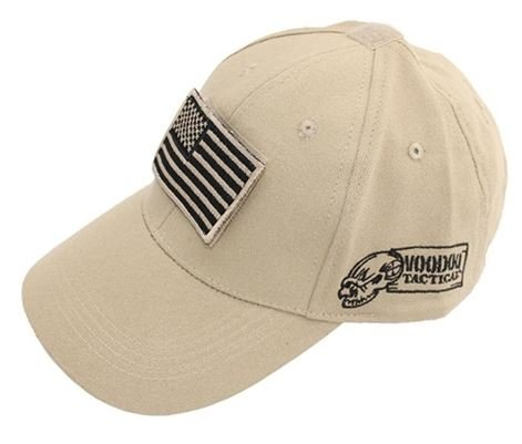 Voodoo Tactical Cap w/ Removable USA Flag Velcro Patch