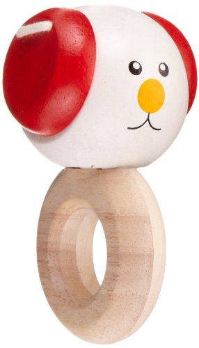 Plan Toys Planpreschool Floppy - Eared Dog Rattle - 1
