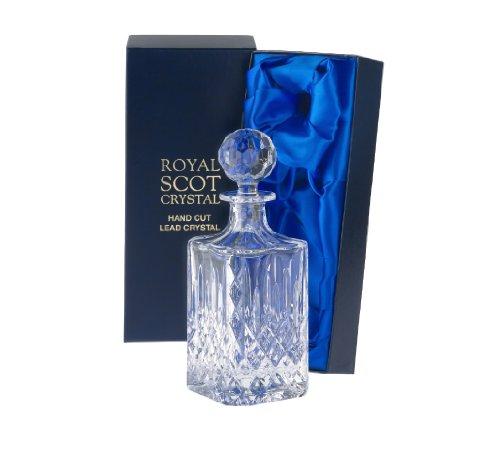 1 Royal Scot Square Spirit Decanter - London - PRESENTATION BOXED