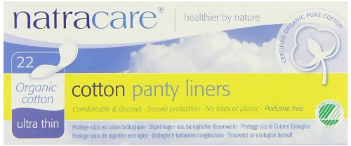 Panty Liners,Cotton 22 CT from Natracare