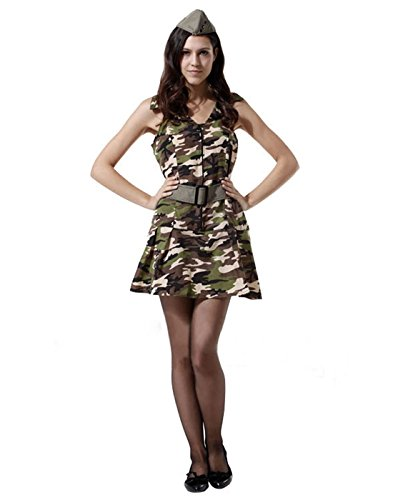 Sexy Army Halloween Costume