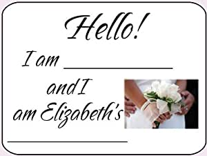 Bridal Shower Name Tags - Personalized!