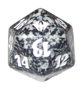 MTG Spindown D20 Life Counter - Dark Ascension Black - 1
