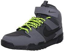 Nike Mogan Mid 2 OMS - Dark Grey / Black-Atomic Green-Anthracite, 8 D US