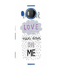 EPICCASE Rain on Me Mobile Back Case Cover For Microsoft Lumia 950 XL (Designer Case)