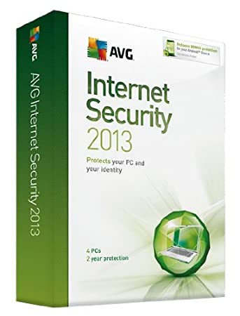 AVG Internet Security 2013: 4 User - 2 year License (PC)