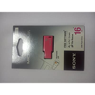 Sony Micro Vault Tiny 16GB USB Pen Drive (Pink)