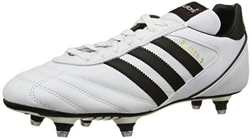 Adidas Kaiser 5 Cup Scarpe sportive, Uomo, Bianco (Ftwr White/Core Black/Core Black), 44 2/3 EU