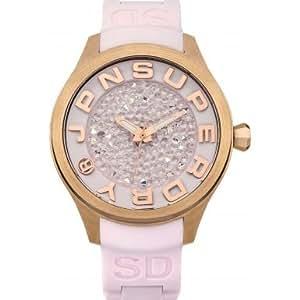 Amazon.com: Superdry SYL172P Ladies Scuba Rocks Pastel Pink Silicone
