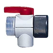 BrandTech 706080 Red Lever SafetyPrime Valve for Dispensette III Bottletop Dispenser, 100mL Volume