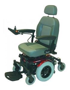 Shoprider Lugano 4mph Heavy Duty Electric Wheelchair Powerchair Captains Seating