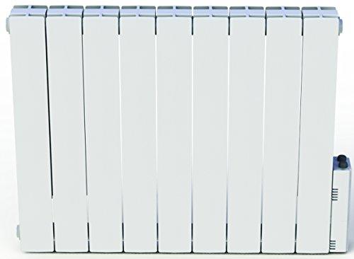 Heliom DIO080922 - Radiatore elettrico a fluido termovettore Léa, 1500 W, Bianco (Blanc)